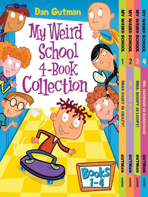 cover image of My Weird School 4-Book Collection with Bonus Material
