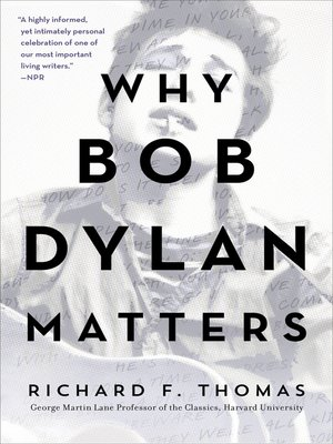 cover image of Why Bob Dylan Matters, Revised Edition