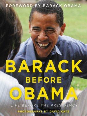 cover image of Barack Before Obama