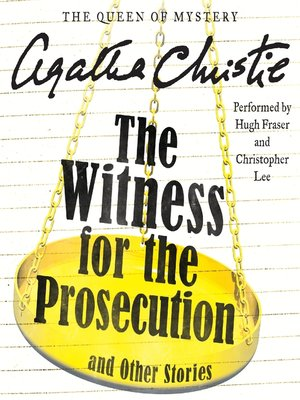 cover image of The Witness for the Prosecution and Other Stories