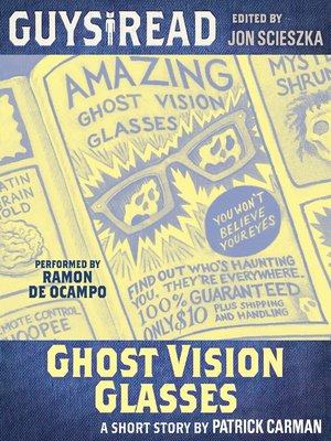 cover image of Ghost Vision Glasses