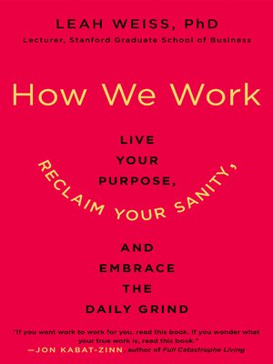 cover image of How We Work