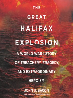 cover image of The Great Halifax Explosion
