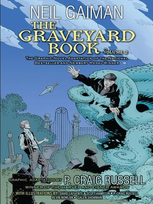 cover image of The Graveyard Book Graphic Novel