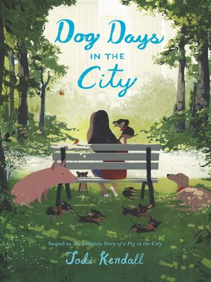 cover image of Dog Days in the City