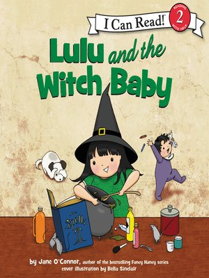 cover image of Lulu and the Witch Baby