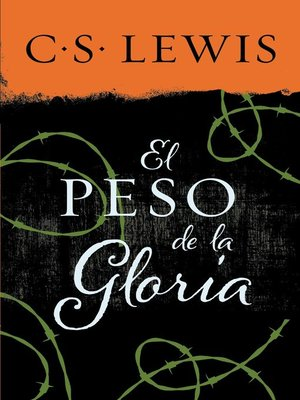 cover image of peso de la gloria