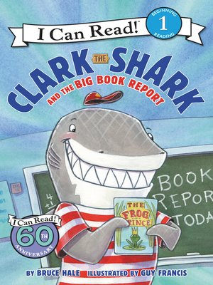 cover image of Clark the Shark and the Big Book Report