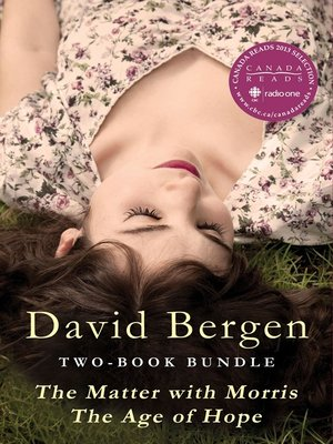 cover image of David Bergen Two-Book Bundle