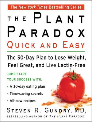 cover image of The Plant Paradox Quick and Easy