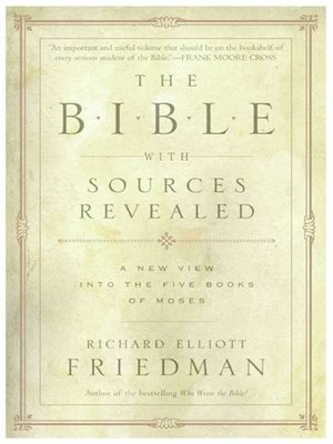 cover image of The Bible with Sources Revealed