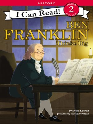 cover image of Ben Franklin Thinks Big