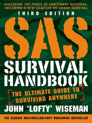 cover image of SAS Survival Handbook