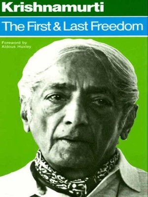 cover image of The First and Last Freedom
