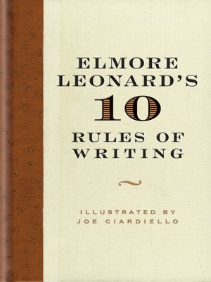 cover image of Elmore Leonard's 10 Rules of Writing