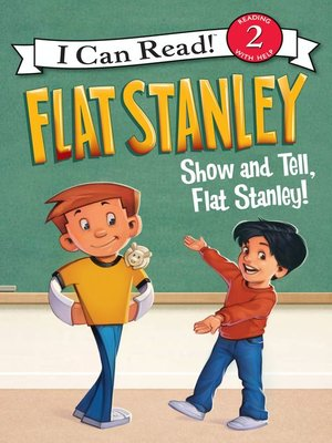 cover image of Show-and-Tell, Flat Stanley!