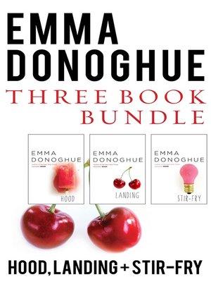 cover image of Emma Donoghue Three-Book Bundle