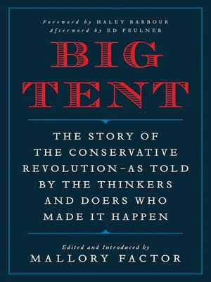 cover image of Big Tent