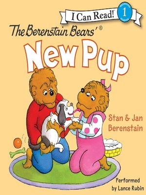 cover image of The Berenstain Bears' New Pup
