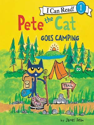 cover image of Pete the Cat Goes Camping