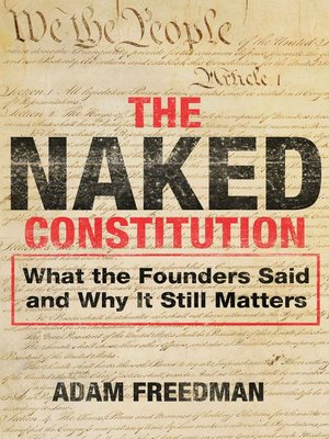 cover image of The Naked Constitution