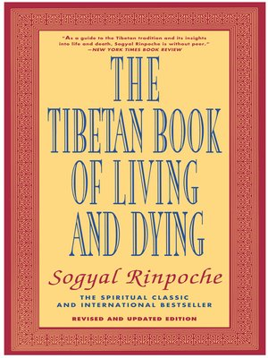 cover image of The Tibetan Book of Living and Dying
