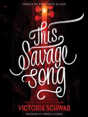 this savage song victoria schwab epub