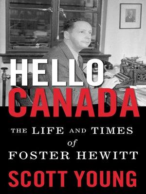 cover image of Hello Canada!
