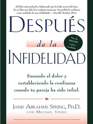 cover image of Despues de la infidelidad