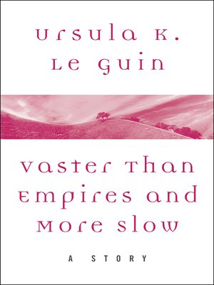 cover image of Vaster than Empires and More Slow