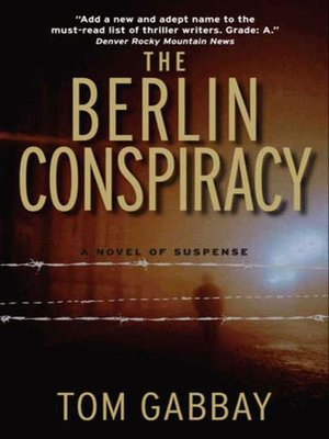 cover image of The Berlin Conspiracy