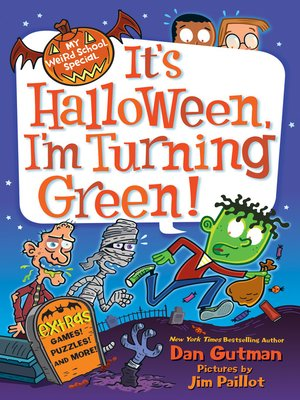 cover image of It's Halloween, I'm Turning Green!