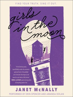 cover image of Girls in the Moon