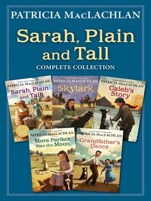 cover image of Sarah, Plain and Tall Complete Collection