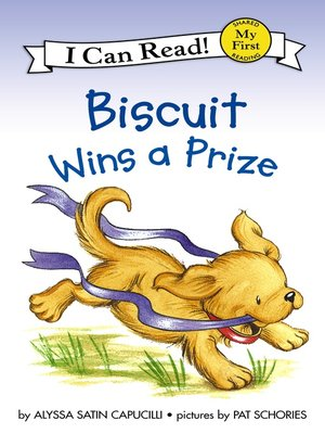 cover image of Biscuit Wins a Prize