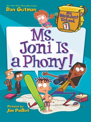 cover image of Ms. Joni Is a Phony!