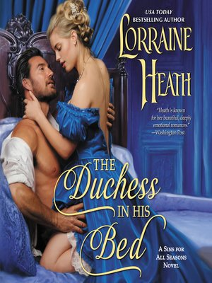 cover image of The Duchess in His Bed