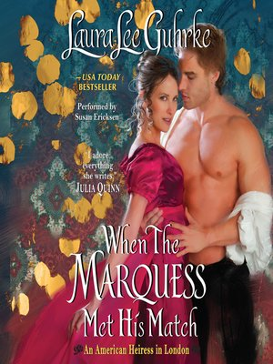cover image of When the Marquess Met His Match