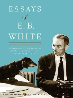 cover image of Essays of E. B. White