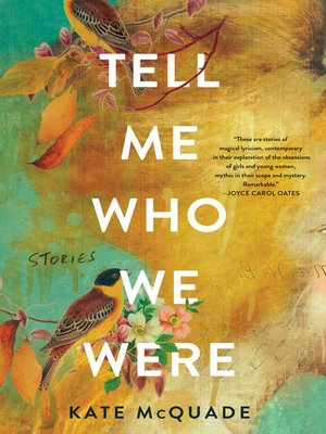 cover image of Tell Me Who We Were