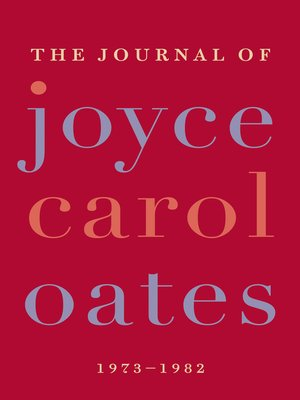 cover image of The Journal of Joyce Carol Oates