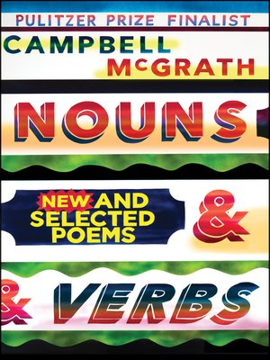 cover image of Nouns & Verbs