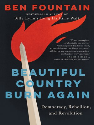 cover image of Beautiful Country Burn Again