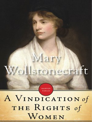 cover image of A Vindication of the Rights of Women
