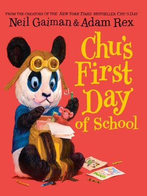 cover image of Chu's First Day of School