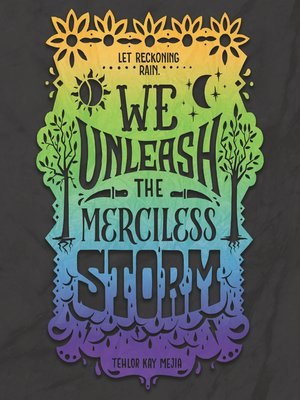 cover image of We Unleash the Merciless Storm