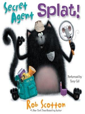 cover image of Secret Agent Splat!