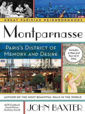 cover image of Montparnasse