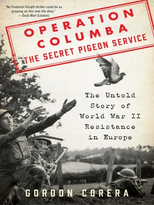cover image of Operation Columba—The Secret Pigeon Service