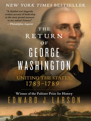 cover image of The Return of George Washington